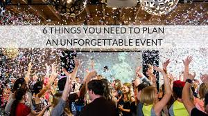 6 things to consider before setting up an event